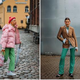 Copenhagen Street Style: четири цвята владеят уличния стил