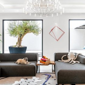 Дизайн за вдъхновение: кротък, елегантен и зелен - домът на една дизайнерка в Дубай