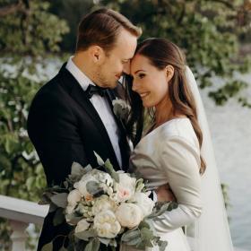 Министър-председателката на Финландия Сана Марин се омъжи за ученическата си любов