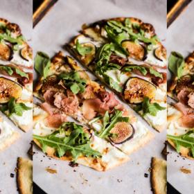 Лято ли бе, да го изядеш: пица с козе сирене и смокини