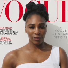 Серина Уилямс е корицата на British Vogue, body positivity issue