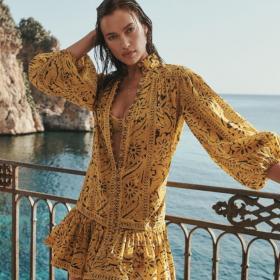 Кой как избра да се рекламира: Ирина Шейк за Zimmermann