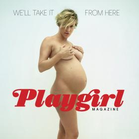 Гола и 2 в 1, Клои Севини позира за Playgirl