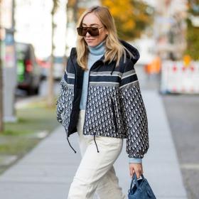 We love: пухеното яке на Dior с две лица
