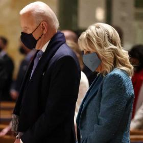 Американка облече Джил Байдън в историческия ден