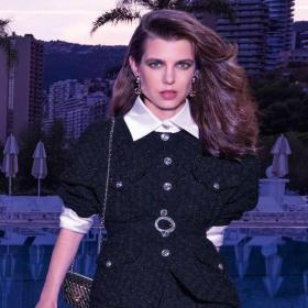 Wе love: Шарлот Казираги в рекламнaта кампания на CHANEL - SS 2021