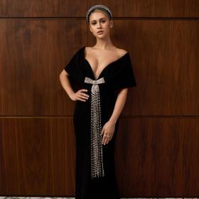 Мария Бакалова почти с Оскар, след като взе Наградата на критиците. Нейната Prada и останалите звездни тоалети от снощи