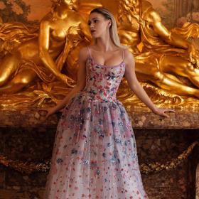 BAFTA 2021 Red Carpet: Най-хубавите тоалети от снощи и най-хубавият - на Мария Бакалова