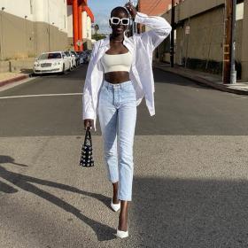 Fashion Starter: Адут Акеч, 7 days, 7 outfits