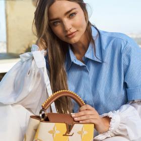 Кой как избра да се рекламира: Миранда Кер за новите чанти на Vuitton, снимки и видео