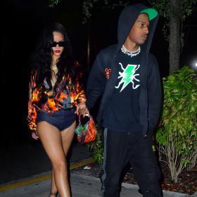 Мър мяу: A$AP Rocky и Риана в Маями