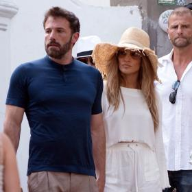 Ваканцията на известните: Дженифър Лопес и Бен Афлек в Капри