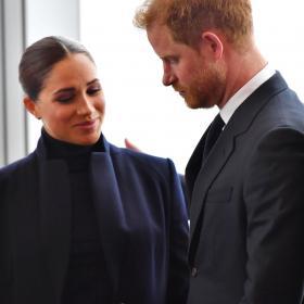 Меган и Хари с първа публична поява след раждането на Лилибет