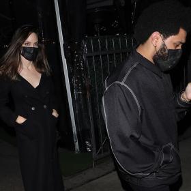 Анджелина Джоли & The Weeknd втори път на вечеря - прилича на любов
