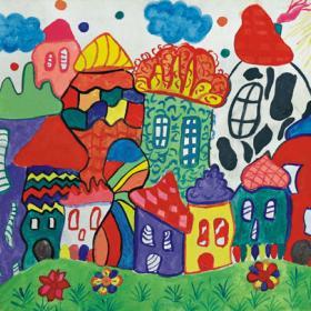 Пролет с детски рисунки