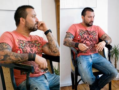 Мъже в черно: Дизайнерът Атанас Вилнер за интериора на колата и екстериора на собственото му тяло