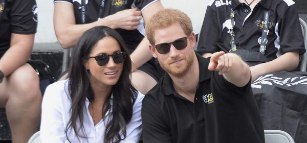 Принц Хари и Меган се показаха