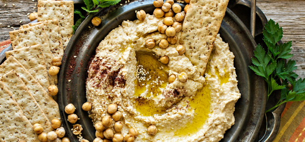 Keep calm and eat hummus!