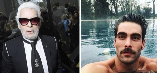 Уикенд в Instagram: От брадатия Лагерфелд до голия Кортахарена