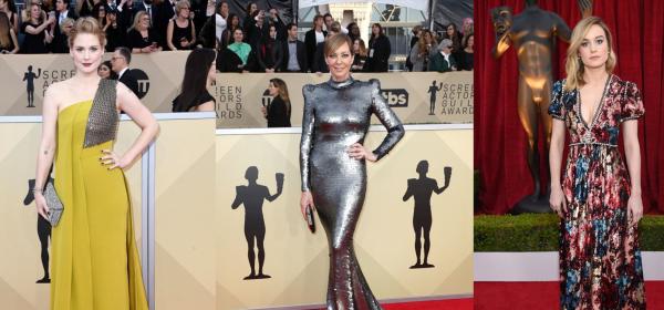 SAG Awards: От Ники Кидман до Кейт Хъдзън... кой какво облече?