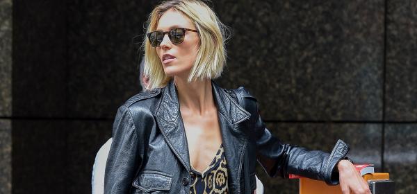 Уличният стил на звездите: Леопардовата Аня някъде из Варшава