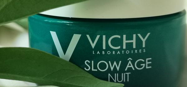 Vichy Slow Age Night: Крем + маска от друго измерение