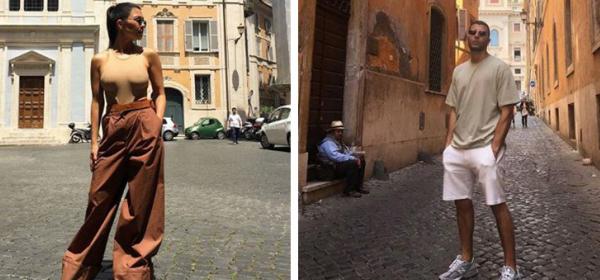 Ваканцията на известните: Кортни и младото й гадже в Рим