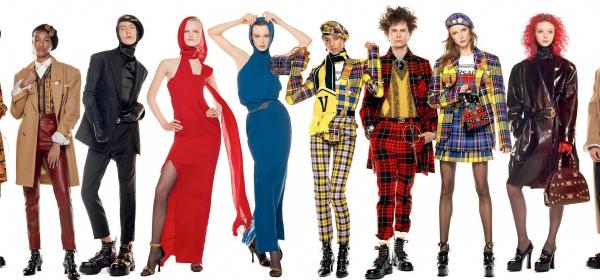 54 супермодела позират за Versace: Бела, Джиджи, Кая и компания