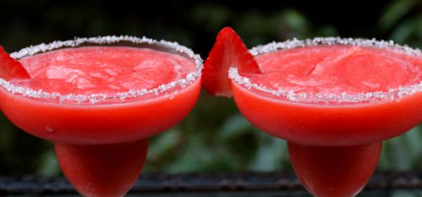 Drunk In Love: Strawberry Margaritas