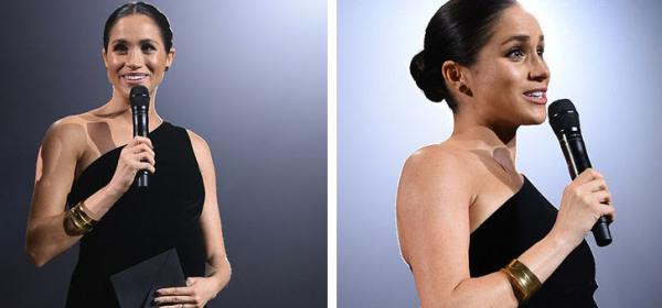 We love: Меган и бебето в кадифе на Givenchy
