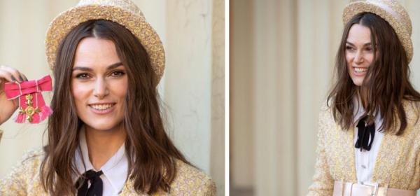 Dressed in Chanel: Кийра получи орден от Кралицата