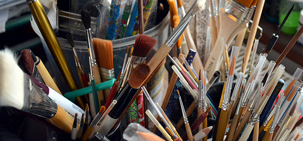 """Иконопис, живопис и музика в изложбата """"Профундо"""""""