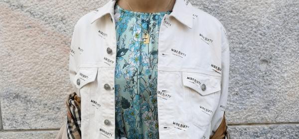 Dettagli di Moda di Milano 2019 vol.2: Валентина Мелпиняно & il suo vestito azzuro