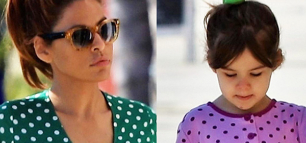 Като мама: Ева & малката Есмералда в координирани точки