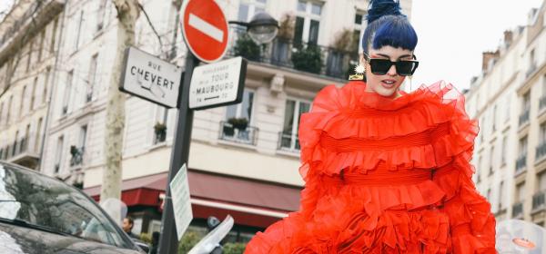 Street style вдъхновения: Crème de la crème-ът на 'преувеличената мода'