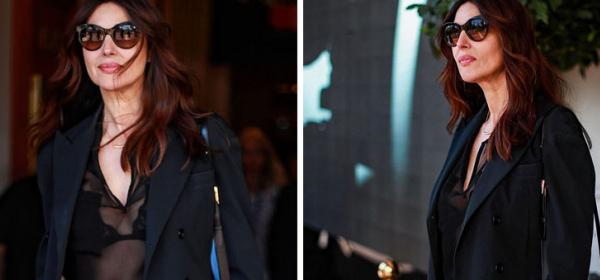 Да или Не: Прозрачната noir блузка на Моника