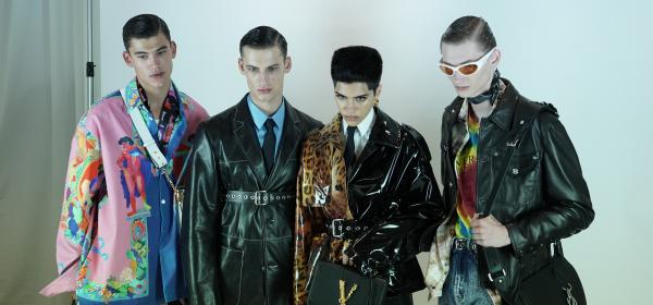 Порасналите момчета на Versace