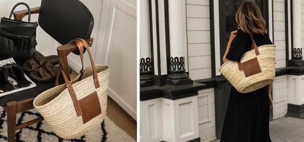 Всички носят: Плетената кошница на Loewe