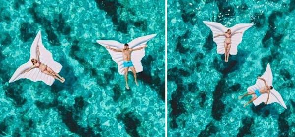 Обичта на известните: Новак Джокович и Йелена в тюркозените води на Хърватия