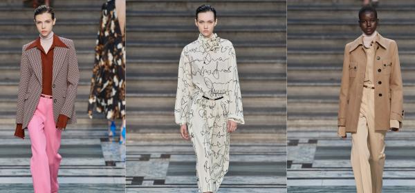 Функционалност в коприна и къдри от Victoria Beckham