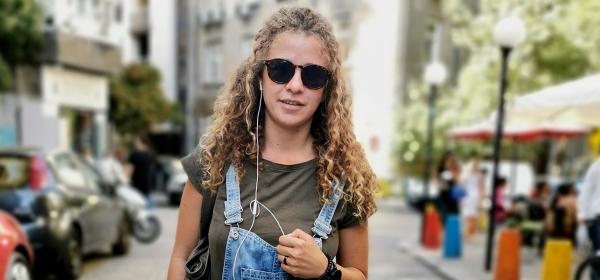 Sofia Street Style: Хубавата Лили