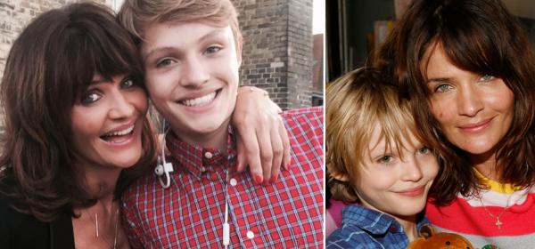 Леле, колко си приличат! Момчето на Хелена Кристенсен на 20