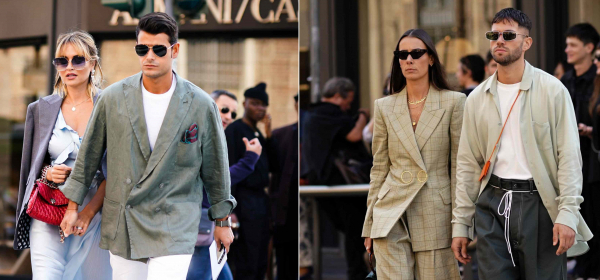 Street style: Мъжете - самички и по двойки