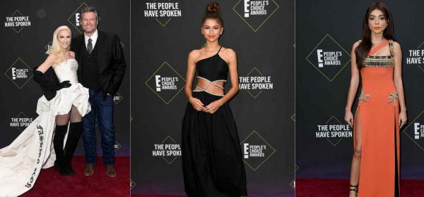 Кой какво облече на E! People's Choice наградите: Гуен Стефани, Зендая, Сара Хайланд & още