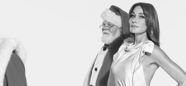 Кой как избира да се рекламира: Карла Бруни в коледната кампания на Burberry