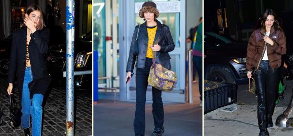Уличният стил на звездите: Как го правят супермоделите