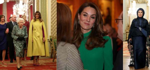 Модна битка на високо равнище: Мелания, Кралицата, Катрин и Емине Ердоган