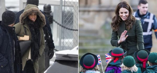 Royal Екстаз: Меган във Ванкувър & Катрин в рокля за 36 лева
