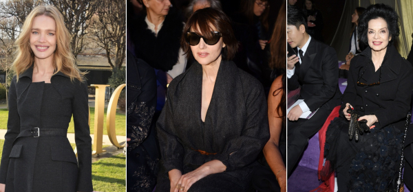 #FrontRowVibes Водянова, Белучи, Джагър & още гости на Dior