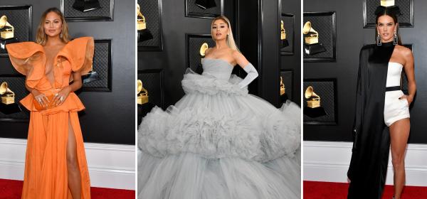 Кой какво облече на Grammys 2020: Ариана Гранде, Алесандра Амброзио, Криси Тейгън и още